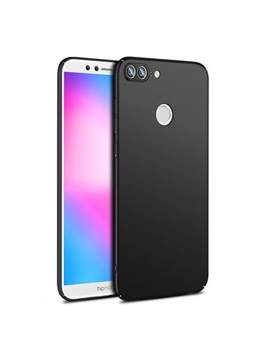 Microsonic Huawei Honor 9 Lite Kılıf Premium Slim Siyah Siyah